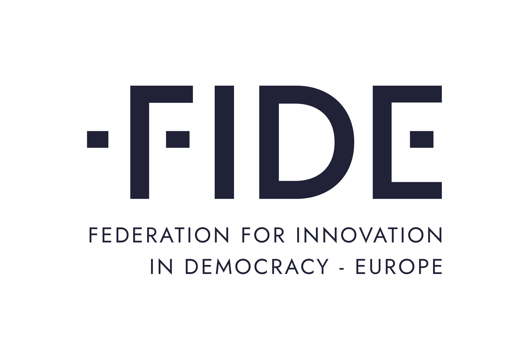 Federation for innovation in democracy - Europe logo